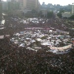 Tahrir Square Protests - Image by monasosh