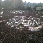 Tahrir Square Protests - Image by monasosh